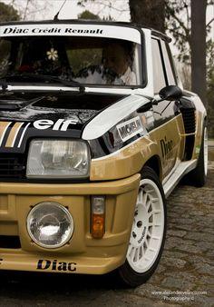 riorientare: automotivated: Renault R5 Turbo Copa (da AlesanderVelascoPhoto) Oh, jaaa ....