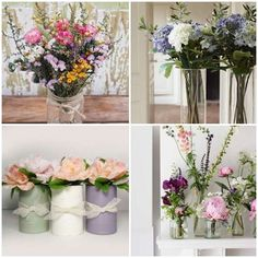 Arranjo Floral para Dia das Mães - Como Plantar e Cuidar Flower Pots, Flowers, Plantar, Coco, Bonsai, Perennials, Orchids, Glass Vase, Bloom
