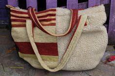 Bag by me Burlap, Reusable Tote Bags, Bags, Hessian Fabric, Jute, Canvas