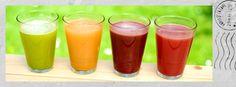 Cold Pressed Juice, Green Juice, Orange Juice, Red Juice, Berries, Beets