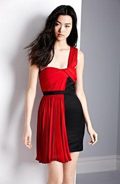 Jason Wu One Shoulder Pleated Dress | Nordstrom