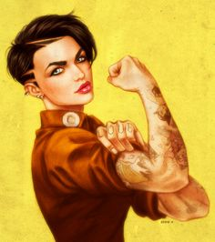SHE CAN DO IT - Ruby Rose by EddieHolly.deviantart.com on @DeviantArt