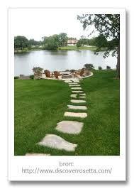 Afbeeldingsresultaat voor flagstones tuinpad