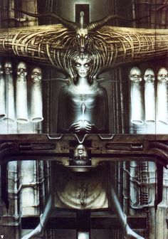 Hans Rüdi Giger: The Spell II fragment