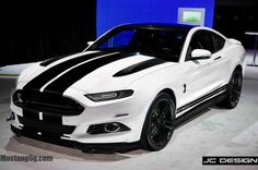 2015 mustang | 2015 Ford Mustang and Shelby GT500 Rendered in Jaw-Dropping Detail