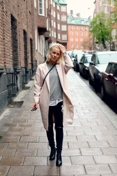 Love this typical Dane look. Malene Birger fashion.