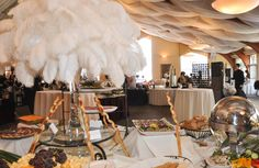 Our stately Columbia ballroom, featuring new layered draped ceiling. Birch Hill Events #NY #Wedding #Albany