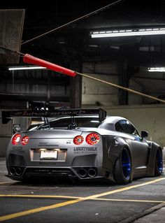 Nissan GTR by LB Performance : one of my favorite wide body for this car! Nissan Gtr R35, Gtr Nismo, Nissan Skyline Gt R, Skyline Gtr, Street Racing Cars, Auto Racing, Drag Racing, Liberty Walk, Japan Cars