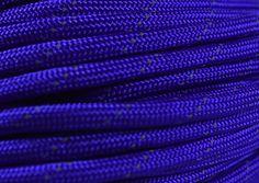Reflective Tracer Acid Purple Paracord