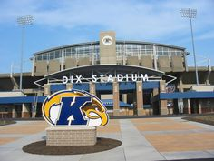 Future home sweet home on Saturdays =]  Kent State University Golden Flashes - entrance to Dix Stadium in Kent, Ohio