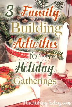 family building activities for holiday gatherings