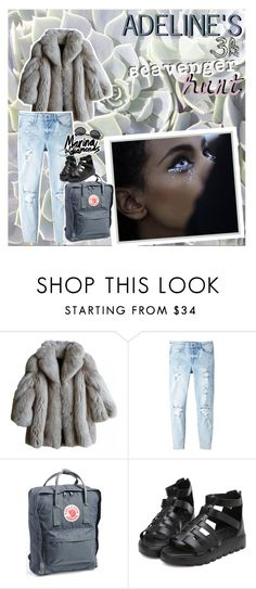 """""""my 3k scav hunt (bc i love u all SO much)"""" by vogue-galaxy ❤ liked on Polyvore featuring MANGO, Fjällräven, Retrò and addy3khunt"""