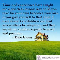 Adoption = beloved and precious!