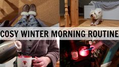 COSY WINTER FAMILY MORNING ROUTINE! #AD British Youtubers, Cosy Winter, Routine