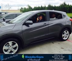 https://flic.kr/p/HqfbVd | Happy Anniversary to Colleen on your #Honda #HR-V from Teal McDonald at Honda Cars of Rockwall! | deliverymaxx.com/DealerReviews.aspx?DealerCode=VSDF