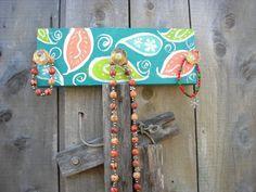 READY TO SHIP Floating  Jewelry wall shelf by JackJacksWayart