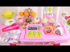 Learn Colors Toys Slime Cash Register Icecream Shopping Store http://youtu.be/aM5Xy-DEVAs
