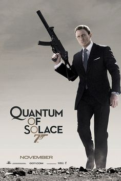 James Bond – Quantum of Solace - Android Wallpaper