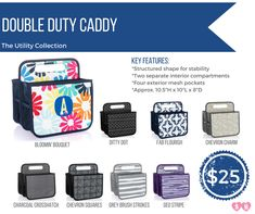 Our Utility Collection has the sizes and styles you need to fit your busy lifestyle!