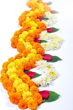 Marigold Flower Rangoli Design For Diwali Festival , Indian Festival Flower Decoration Stock Image - Image of garland, entrance: 128111621 Simple Flower Rangoli, Rangoli Designs Flower, Colorful Rangoli Designs, Rangoli Designs Diwali, Simple Flowers, Diwali Decorations At Home, Festival Decorations, Flower Decorations, Diwali Diy