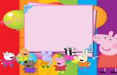 Las 9 Mejores Imágenes De Invitaciones De Peppa Pig Para