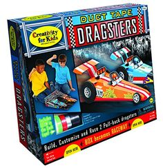 Creativity for Kids Duct Tape Dragster Review