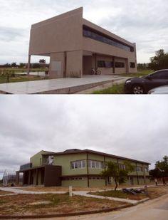 """Inauguramos los nuevos edificios del Instituto de Agrobiotecnología del Litoral y el IMAL (Instituto de Matemática Aplicada del Litoral), en Santa Fe, con financiación de CONICET, dentro del Plan de Infraestructura Federal de Ciencia y Tecnología.  Entre lo construido y lo licitado ya superamos los 155 mil m2, siendo que """"cuando presentamos el plan dijimos que íbamos a construir 130mil, lo cual era el déficit en 30 años de inacción""""."""