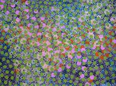 """Saatchi Online Artist: The Flowerbeds; Mixed Media, 2012, Painting """"country dawn"""""""