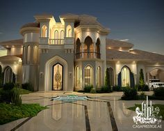 Exquisite Luxury Mansion Design - Luxury Home Decor - Luxury Homes Dream Home Design, Modern House Design, My Dream Home, Mansion Homes, Dream Mansion, Villa Luxury, Luxury Life, Luxury Estate, Evolution Architecture