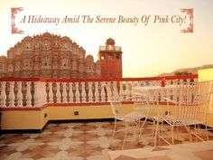 A hideaway amid the serene beauty of Pink city! Address: 3rd Floor, Opposite Hawa Mahal, Badi Chopad Call: 093142 54223 #Cafes #Beverages #Food #Sandwiches #WindViewCafé #CityShorJaipur