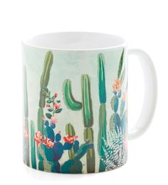 ~ Cactus What You Preach Mug ~