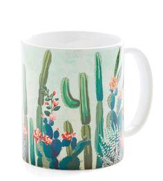 ~ Cactus What You Preach Mug ~