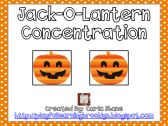Jack-O-Lantern Concentration product from Playful-Learning-Brooklyn on TeachersNotebook.com $1.00