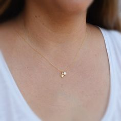 Gold necklace, dainty necklace, unique necklace, #jewelry #necklace @EtsyMktgTool http://etsy.me/2lJmSXn #uniquenecklace #goldnecklace