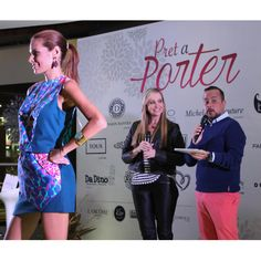 Porter en piso 5 del Tolón Fashion Mall donde presentamos algunas de nuestras piezas con la bellísima @titinapenzini y el talentoso @absolutedu !  Our #FlashbackFriday goes to the Prêt à Porter event on the 5th floor of the Tolón Fashion Mall, where we showed some of our outfits with the gorgeous @titinapenzini and the talented @absolutedu !