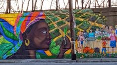 Street Art, amazing mural in Pointe St Charles Saint Charles, Old Buildings, Montreal, The Neighbourhood, Street Art, Old Things, Real Estate, Urban, History