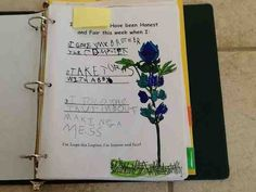 OCD Girl Scout Leaders  Worksheets we sent home before earning each petal