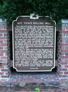 Today in Labor History Rolling Mill, 13 Year Old Boys, Milwaukee Wisconsin, 13 Year Olds, Nerd, Articles, History, Live, Otaku
