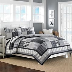 Nautica Gunston Cotton Reversible Quilt and Sham Seperates - Overstock Shopping - Great Deals on Nautica Quilts