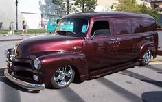 54 Chevy Panel Truck..Re-pin brought to you by agents of ...