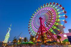 Roda-gigante em Kobe - foto de acervo