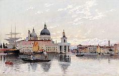 Carl Skånberg (1850-1883): Från Venedig