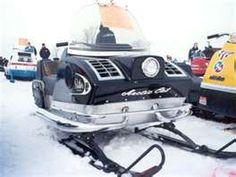 Old snowmobile!