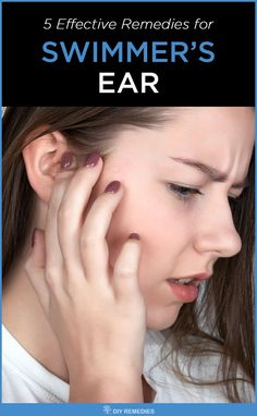 Home Remedies for Swimmer's Ear Here are the best natural remedies that widely used to treat swimmer's ear infection effectively. All you need is to follow them regularly along with some ear hygiene to get complete relief from this infection. #DiyRemedies #SwimmersEar #Ear