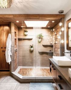 Teak floors in a walk in shower 2019 Dream shower! Teak floors in a walk in shower The post Dream shower! Teak floors in a walk in shower 2019 appeared first on Shower Diy. House Bathroom, Home Interior Design, House Design, Bathroom Interior, House Interior, House Rooms, Bathroom Inspiration Modern, Home, Dream Bathrooms