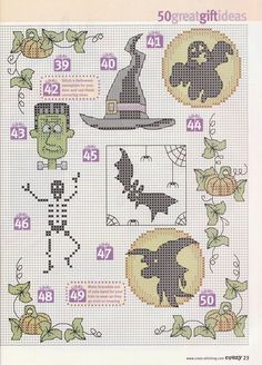 I'm stitching some of these for Halloween :-)