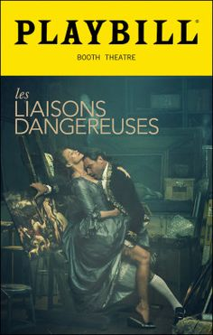 Les Liaisons Dangereuses. Booth Theatre. Opening night, October, 2016.