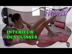 Fitness Routine à la maison: Affiner l'intérieur des cuisses en brûlant les adducteurs - YouTube