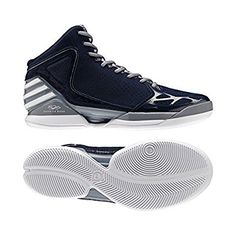 outlet store 96397 749dc Adidas Adizero Rose 1.0 WhiteBlack Shoes  Derrick Rose Shoes  Pinterest   Black shoes and Derrick rose