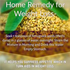#Medisys #FitTips :- #Home #Remedy for #WeightLoss